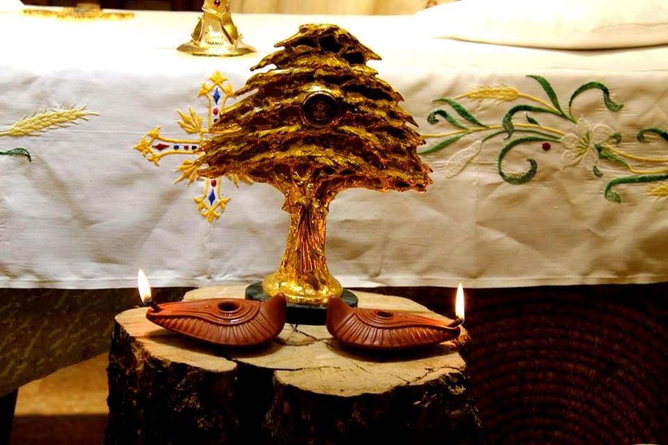 maronici, cedr, relikwie, Charbel