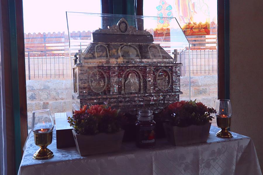 relikwiarz św. Marii od Jezusa Ukrzyżowanego