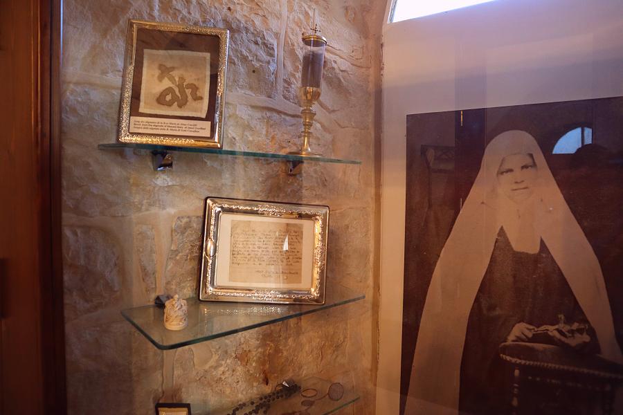 część muzealna klasztoru w Betlejem