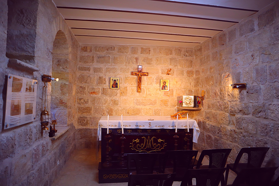 kapliczka przy klasztorze karmelitanek w Betlejem